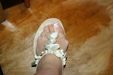 Prada Mother of Pearl  Sandal SHOES 37