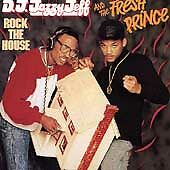 D.J. Jazzy Jeff And The... --Rock The House  (Cassette, 1987, Zomba Records) NEW