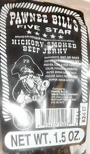 Pawnee Bill Hickory Smoked Beef Jerky (2) 1.5 oz Packages FREE SHIPPING