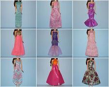 Assorted Lot of Longer Dresses Tea & Floor Length Genuine BARBIE Fashion