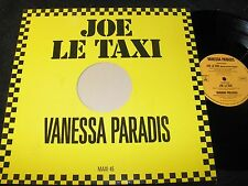 "VANESSA PARADIS Joe Le Taxi / German 12"" MAXI-SINGLE 1987 POLYDOR 885765-1"