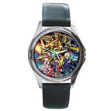Digimon Xros Wars Cross Wars Ultimate Leather Wrist Watch