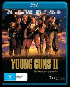 Young Guns II (Blu-ray) NEW/SEALED [All Regions]