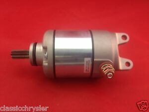 NEW STARTER MOTOR FOR 2007-2013 KTM OFF-ROAD 250 MOTORCYCLE 250EXC-F 77040001000