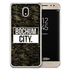 Samsung Galaxy J3 2017 Hülle - Bochum City Camouflage - Motiv Design Deutschlan