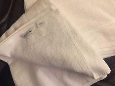 Lacoste Large White Bath Towel New