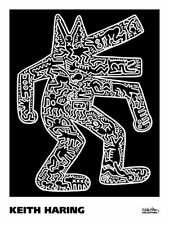 Dog, 1985 by Keith Haring Art Print Dancing Animal Pop Poster 24x18
