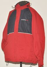 SUPERB CHAPS RALPH LAUREN RL RAIN HIKING JACKET WIND STOPPER  XL RED AND BLUE