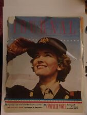 Vintage Ladies Home Journal Magazine, September, 1942