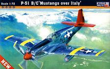 P 51 B/C MUSTANG sono D Code's (Tuskegee AVIATORI) 1/72 mistercraft
