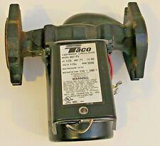 Taco 007 F5 125hp 115v Cast Iron Cartridge Circulator Pump Used
