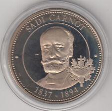 Médaille contemporaine Française Sadi Carnot 1837-1894