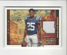 2017 Playoff Rookie Stallions 1st Down Marlon Mack Rookie PATCH Colts /25
