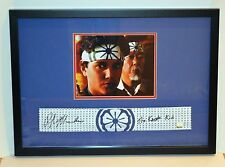 Ralph Macchio The Karate Kid Signed Framed Miyagi Headband ASI Proof