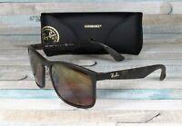 RAY BAN RB4264 894 6B Matte Havana Brown Mirror Polarized 58 mm Men's Sunglasses