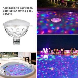 Underwater Hot Tub RGB Colorful LED Floating Bath Lights Lazy Spa Disco Lamp HOT