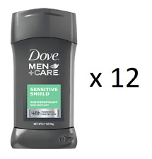 Dove Men+ Care Invisible Solid AP Deo, Sensitive Shield, 2.7 oz (12 Pack)