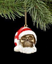 Adornos de Árbol de Navidad - Calavera Papá Noel - Gótico Decoración