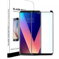 Fits LG V30 V30 Plus / LG V30S ThinQ Curved Full Screen Protector Tempered Glass