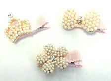Hairpins for Girls Princess Pearls Korean Styles (3 pieces)