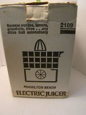 Vintage Hamilton Beach Electric Juicer Made in the USA