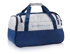 Perry Ellis Dark Navy Blue/Gray Weekend / Travel / Gym / Holdall Bag-NWT