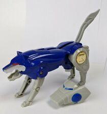 Vintage Mighty Morphin Power Rangers Deluxe Ninja Megazord blue wolf zord 1995 Bandai action figure