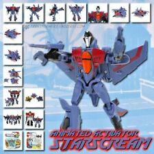 *RARE* Hasbro Transformers Animated Activators Starscream Action Figure Vintage