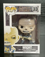 Game of Thrones- Wight #33 Funko Pop Vinyl #RARE #VAULTED