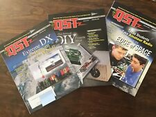 Qst Magazines-3 issues Oct '16,Jan, Feb '17 -Amateur Ham Radio Arrl-New/Unread