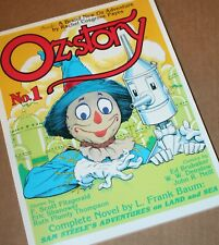 OZ-STORY Magazine #1 SGN by ERIC SHANOWER Hungry Tiger Press 1995 Frank Baum
