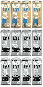 OATLY Barista Edition Oat Milk 8ℓ + 4ℓ Oat Drink Organic - (Pack of 12)