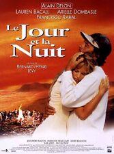 """Affiche 120 x 160 du film """"LE JOUR ET LA NUIT"""" de Bernard Henri Levy ."""