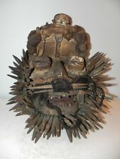 "Arts of Africa - Bete Warrio Mask - Ivory Coast - 16"" Height x 15"" Wide"