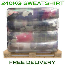 240Kg Pallet Of Coloured Sweatshirt Wiper Garage Wiping Polishing Cloth