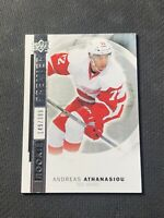 2015-16 UPPER DECK PREMIER ANDREAS ATHANASIOU ROOKIE SILVER R-2 #ed 149/399