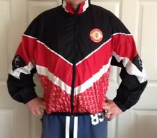 True Vintage Manchester United Shell Suit Top Large