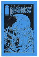 Deathblow 1 Ashcan Image Comics 1993 LTD Jim Lee Brandon Choi Deluxe H14V