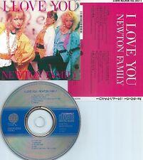 NEWTON FAMILY-I LOVE YOU-87-JAPAN-OVERSEAS/TEICHIKU REC.30CP-250-NO OBI-CD-MINT-