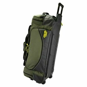 Rugged Xtremes Large FIFO Canvas Transit Bag on Wheels 80ltr RX05C131W