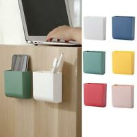 Wall Mounted Mobile Phone Storage Box Remote Control Container Holder AU Top