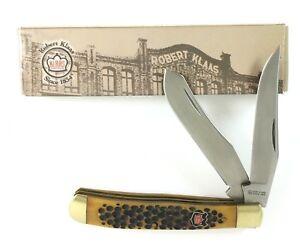 Kissing Crane Trapper Robert Klaas BROWN PICK BONE Knife 6211 + Box NL-169