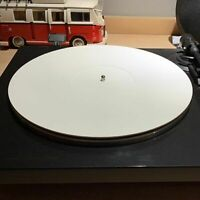 12 Inch Acrylic Mat Record Pad Slipmat for Turntable Phonograph Accessories