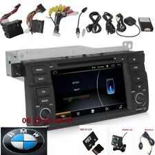 Autoradio WIFI GPS ANDROID BT DVD USB pour  BMW SERIE 3 (E46)+CAMERA+MICROPHONE