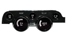 Ford Mustang Digital Dash Instrument Cluster Gauges for 1967 - 1968 WHITE LEDs!