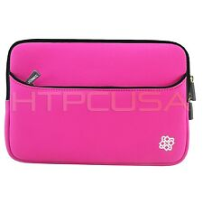 "KOZMICC 7"" Pink Neoprene Sleeve Pouch Case for HTC Flyer / Evo View 4G Tablet"