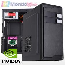PC Computer Intel J1800 2,41 Ghz Dual Core - Ram 8 GB - HD 2 TB - nVidia GT730