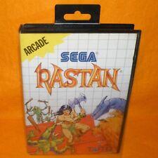 VINTAGE 1988 SEGA MASTER SYSTEM RASTAN ARCADE CARTRIDGE VIDEO GAME PAL VERSION