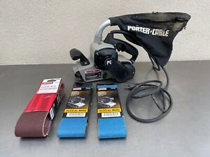 "Corded Porter Cable 352VS 3"" x 21""  7 Amp Variable Speed Belt Sander"