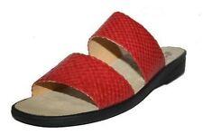 Damen-Sandalen & -Badeschuhe aus Echtleder normale Weite (E) für den Sommer